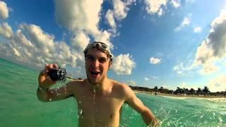Running into the Ocean :D