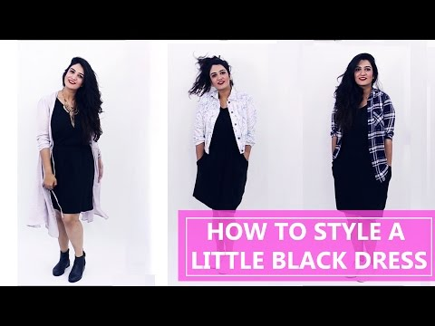 How to Style a Little Black Dress   Fashion Tips   Style Tips for Women