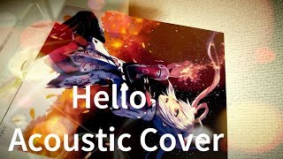 PSO2 EP3 Ending Theme - Hello Acoustic Cover