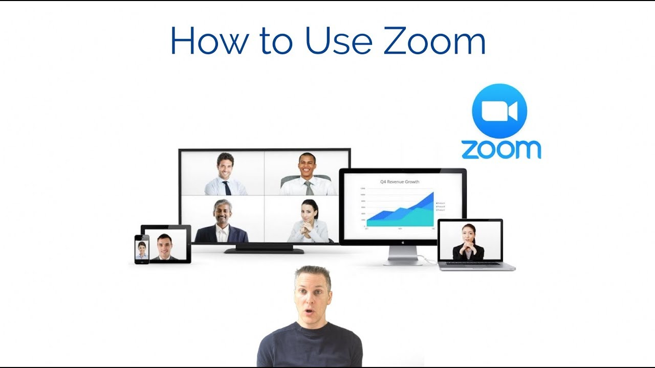How to Use Zoom Online Meetings – Setting up an account and hosting a meeting tutorial