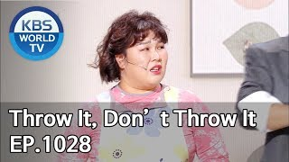 Throw It, Don't Throw It | 던질까 말까 [Gag Concert / 2019.12.21]