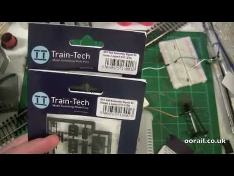 oorail.com | Introduction to Model Railway Signaling with Train-Tech DC Colour Light Signals