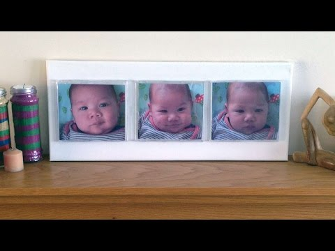 How To Create A Minimalist Triple Picture Frame – DIY Home Tutorial – Guidecentral