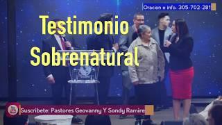El Espiritu Santo Trae Sanidad Sobre Unas Rodillas || Testimonio