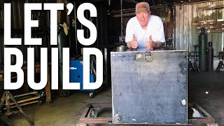 BUILDING A CUSTOM 100 GALLON FUEL TANK // CENTRAL OKLAHOMA CUSTOM WELDING