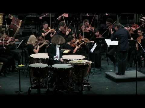 Timpani Concerto No. 1 by William Kraft, Movement III. Fleeting - Nikolaus Keelaghan