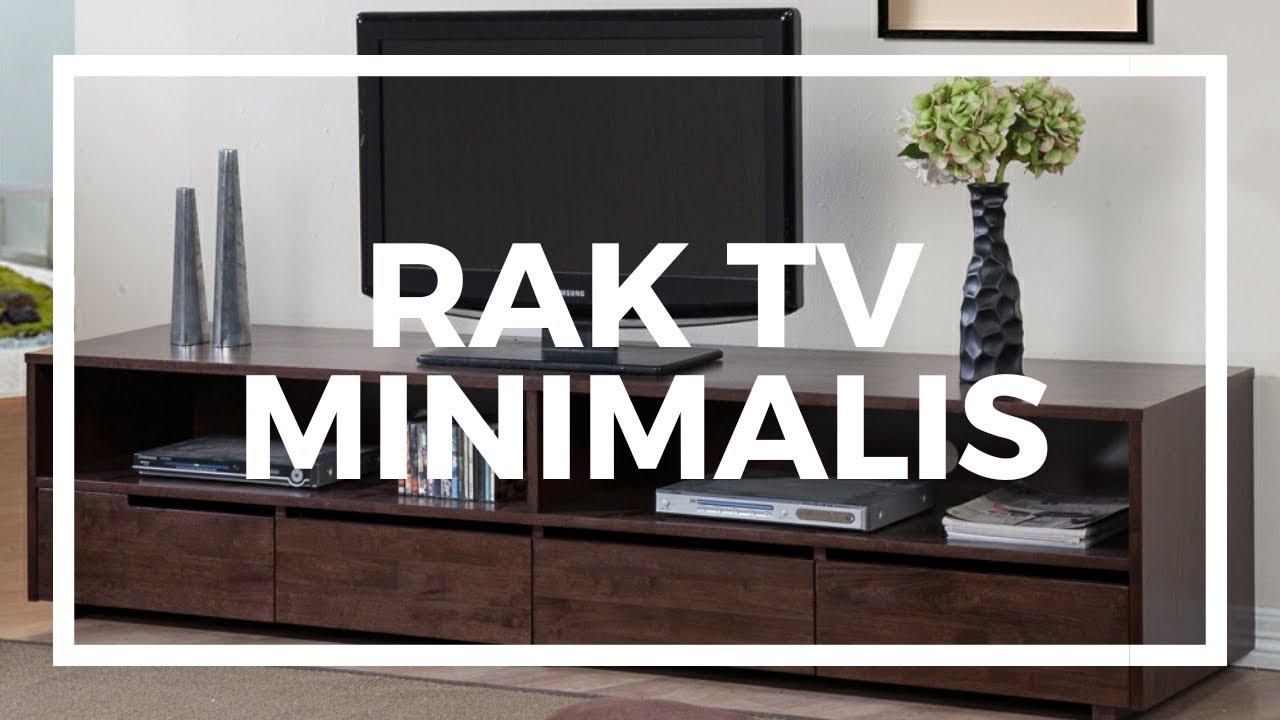 Desain Rak TV Modern Minimalis - YouTube