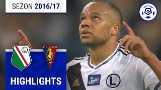 Legia Warszawa - Pogoń Szczecin 2:0 [skrót] sezon 2016/17 kolejka 27