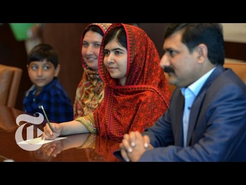 Malala Yousafzai's Mother Learns to Read | The New York Times