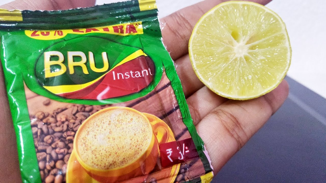 Image result for lemon with bru