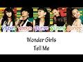 Wonder Girls – Tell Me Lyrics HAN|ROM|ENG