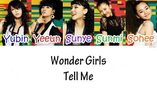 Wonder Girls – Tell Me Lyrics [han|rom|eng]
