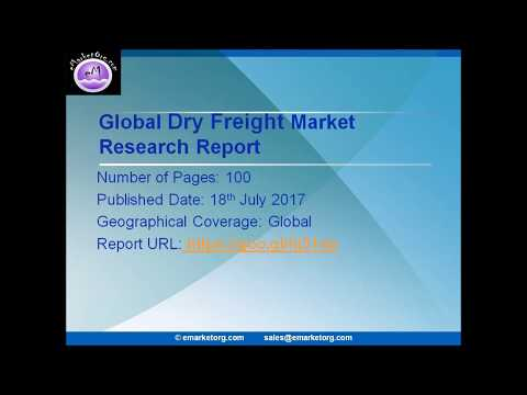 Dry Freight Market Revenue Market Share Analysis: Market Shares, Analysis, and Index