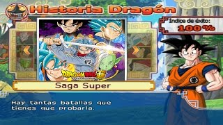 Dragon Ball Z Budokai Tenkaichi 4 - SAGA SUPER Vegeta, Goku, Trunks vs Black Goku, Zamasu #6