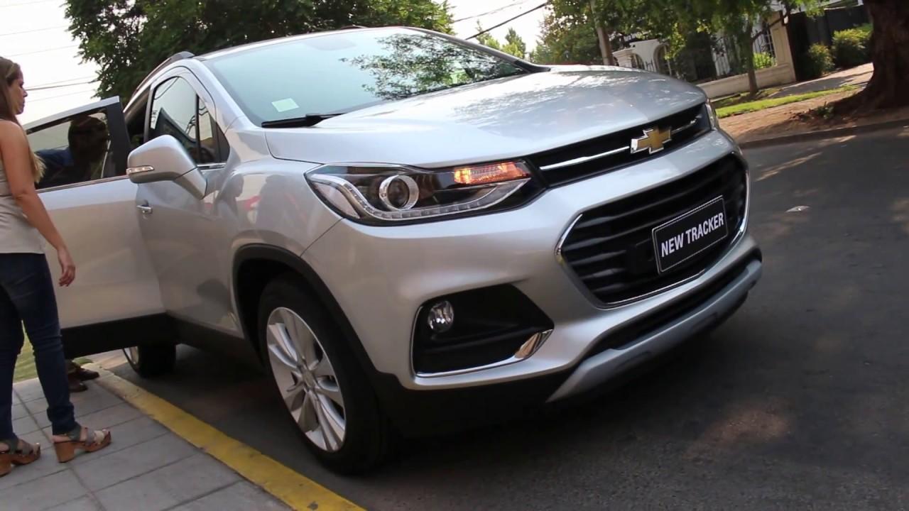 Lanzamiento Chevrolet Tracker 2017 En Chile Youtube