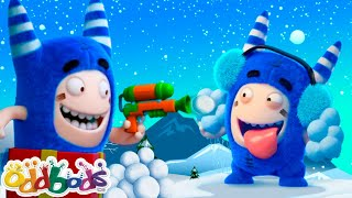 ODDBODS | Home For The Holidays | Cartoons For Kids