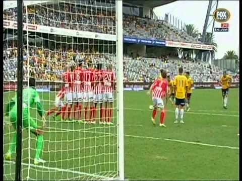 Fabio Ferreira Goal Central Coast Mariners Vs Melbourne City
