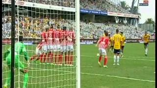 Fabio Ferreira Goal Central Coast Mariners Vs Melbourne City