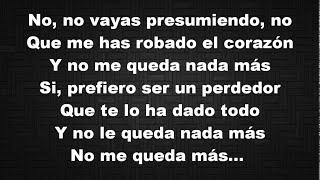 Enrique Iglesias   El Perdedor  ft  Marco Antonio Solís Letra
