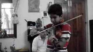 Indian National Anthem on Violin