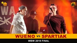 Wueno  Spartiak  WBW 2019 Finał (freestyle rap battle)