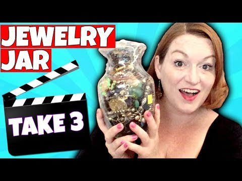 GOLD JACKPOT! $60 Goodwill Jewelry Jar Unboxing 2018 - Did I Waste My Money?