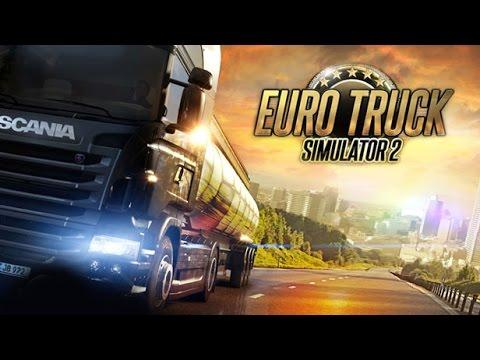 Euro Truck Simulator 2-Explozibili din Aberdeen-Praga Partea 2
