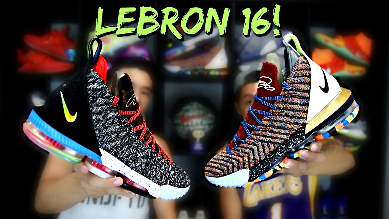 2e3507e5373cf Nike LeBron 16  WHAT THE   1 THRU 5  Review! - YouTube