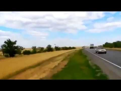 • A Ukrainian fighter jet performs a low pass somewhere in Eastern Ukraine.