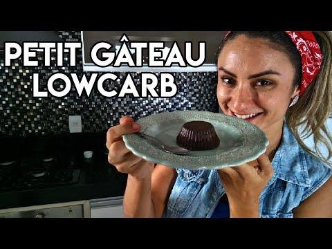 Na Cozinha Com a Ju - Petit Gâteau LowCarb