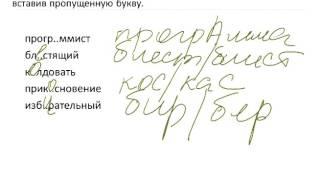Русский язык, 2016. Орфограммы в корне слова . (11.11.15). sibege.ru