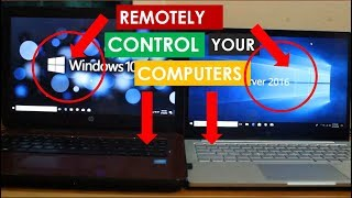 REMOTELY CONTROL YOUR COMPUTERS