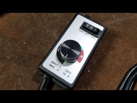 Harbor Freight Electronic Router Speed Controller Review & Evaluation