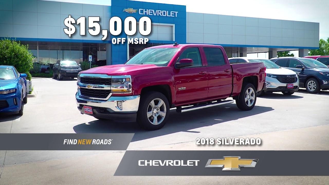 Discount Chevys At El Dorado Chevrolet In McKinney