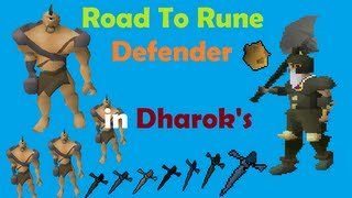 07 RuneScape Dharok s in Warriors Guild 7
