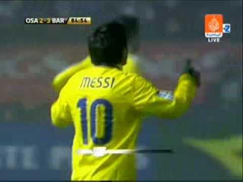 Messi goal vs Osasuna