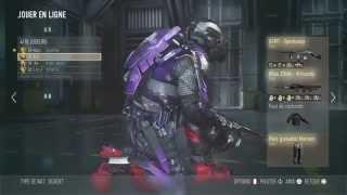 Call of Duty®: Advanced Warfare / comment avoir des bottes et protege tibia cavelerie ?