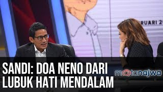Download Video Sandi Sandiaga Uno: Doa Neno dari Lubuk Hati Mendalam (Part 1) | Mata Najwa MP3 3GP MP4