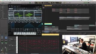 James Egbert Studio Stream [2015/07/09] Building Lush Supersaw Chords