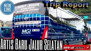 Trip Report Bus || Coba Pemain Baru Jalur Selatan PO. MGI Garut - Bogor