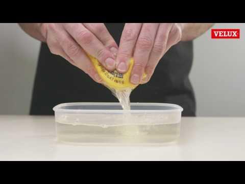 VELUX Holzfenster Pflege - YouTube