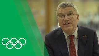 From Olympic Champion to President of the Olympic Movement | Olympic Rewind with Thomas Bach