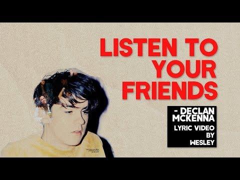 declan mckenna - listen to your friends lyrics (inglés/español)