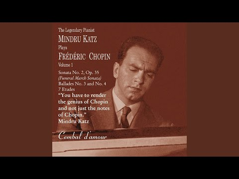 Mindru Katz speaks about dreams, Chopin, and musical revelations
