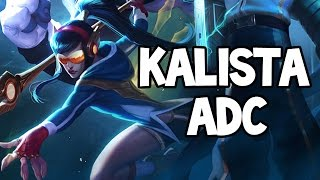 SKT T1 KALISTA ADC GAMEPLAY - League of Legends
