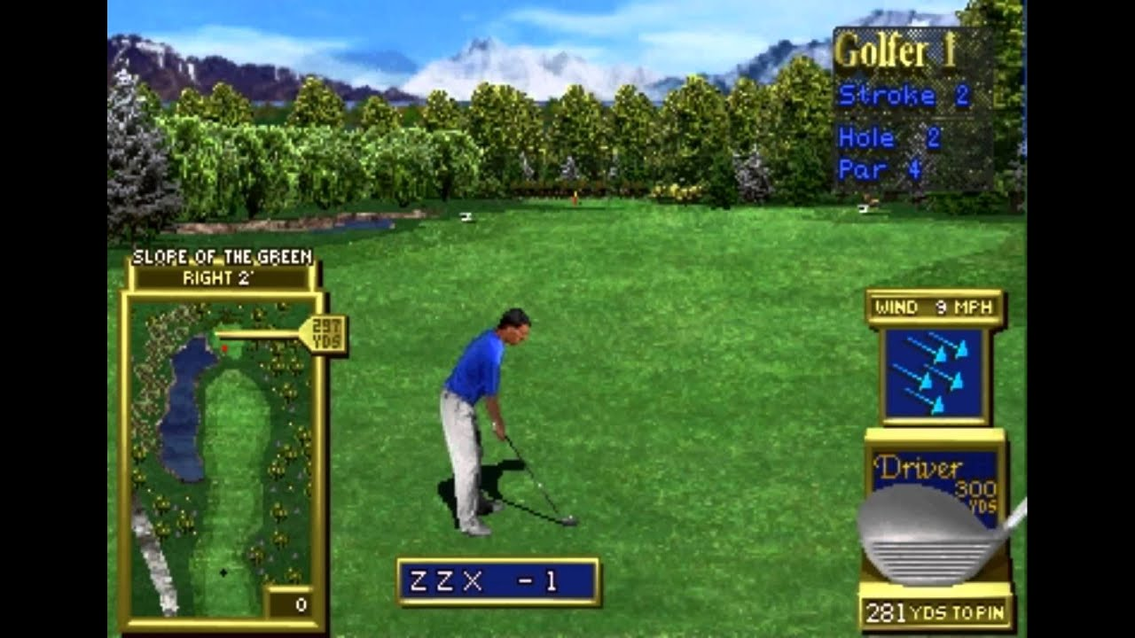 Golden Tee 2K - Stone Valley Holes 1-3 (MAME) - Vizzed com GamePlay