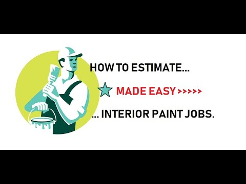 How To Estimate Interior Painting Jobs Made Easy Youtube