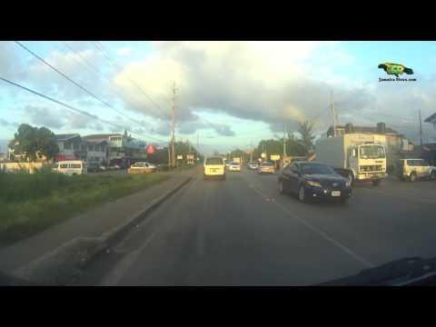 DRIVING TO OCHO RIOS FROM MONTEGO BAY AIRPORT PT 3 (JAMAICAVIEWS.COM)