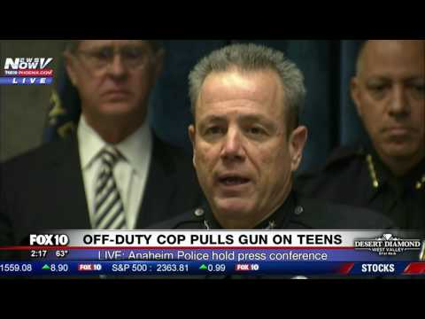 PRESS CONFERENCE: Anaheim Police Respond to Viral Video of Off-Duty Cop Pulling Gun on Teens (FNN)