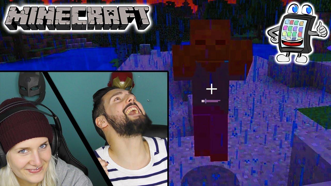 NINA SPIELT ZUM ERSTEN MAL MINECRAFT WIE WIRDS Minecraft Lets - Youtube minecraft deutsch spielen
